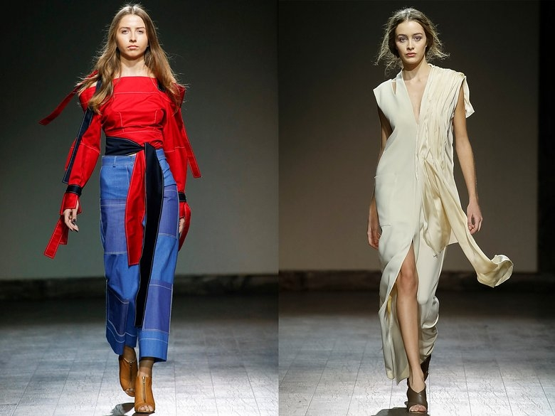 FASHION WEEK TBILISI, DAY 2: CLEAN SLATES AT MATÉRIEL BY TIKO PAKSASHVILI, CANADIAN TUXEDOS AT FLOW THE LABEL, AND MORE