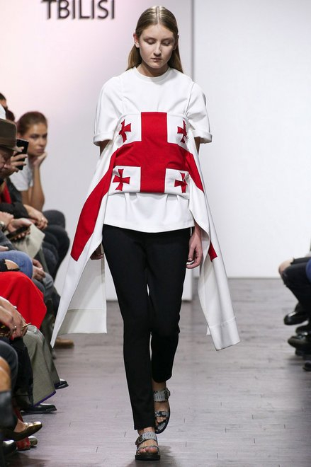 TBILISI REPORT: GEORGIAN DESIGNERS SHOW HOMEGROWN PRIDE IN SURPRISING WAYS