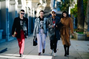 TBILISI FASHION WEEK'S STREET STYLE STARS SHINE SO BRIGHT THEY ALL HAVE TO WEAR STATEMENT SUNGLASSES