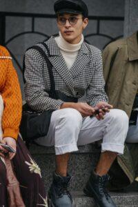 タートルネックやスカーフ、トビリシに学ぶリアルな秋スタイル。【トビリシ ファッション・ウィーク】