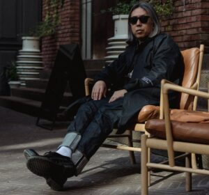 HIROSHI FUJIWARA SHOWS HIS SUPPORT FOR GEORGIAN FASHION