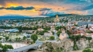 IN TBILISI, FASHION AND ARCHITECTURE GO HAND IN HAND