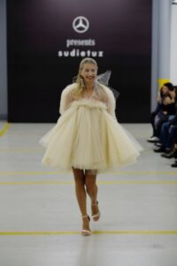 DAIMLER : MERCEDES-BENZ PRESENTS TURKISH LABEL SUDI ETUZ AT MERCEDES-BENZ FASHION WEEK TBILISI